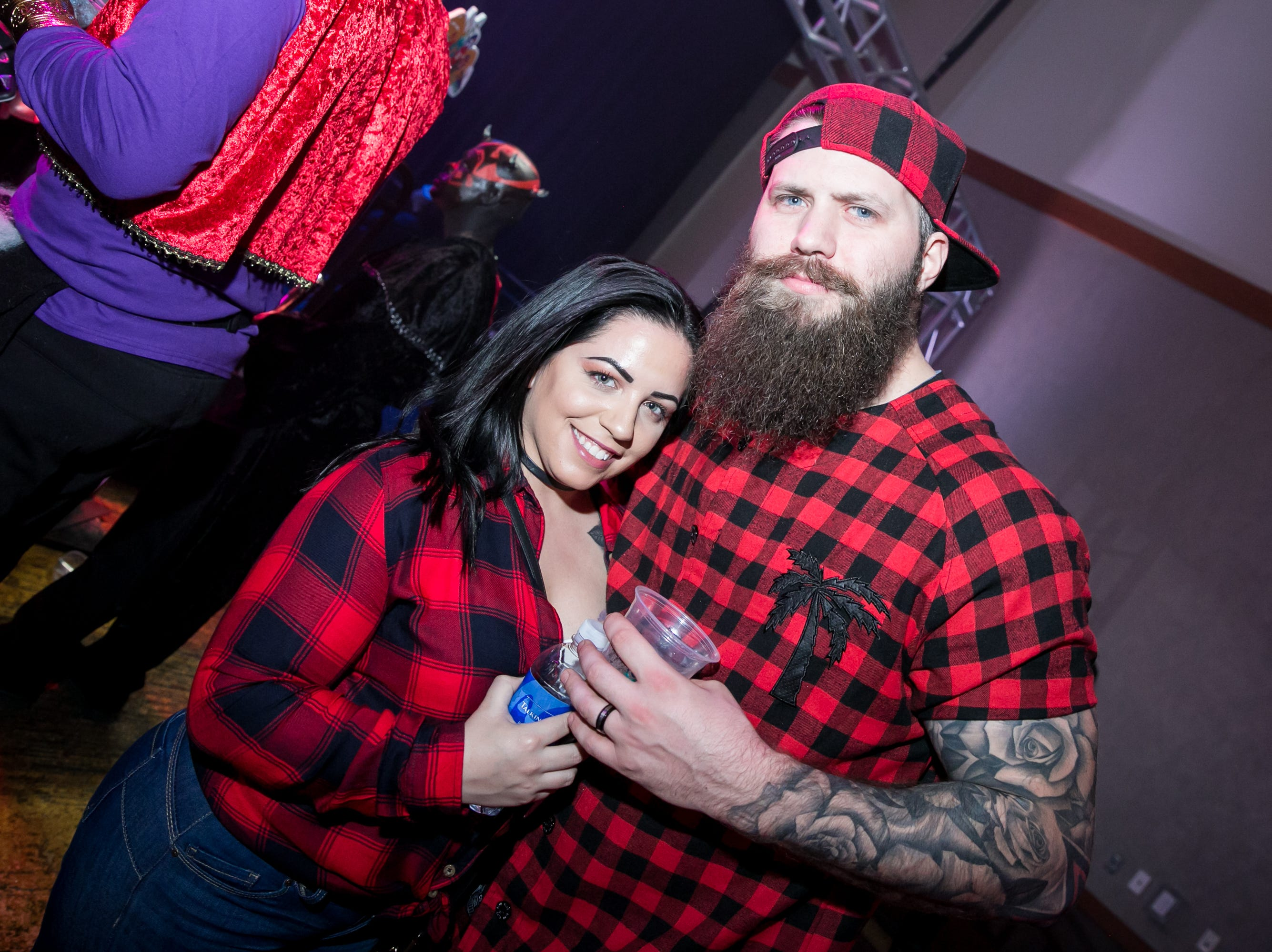 These lumberjacks looked dashing during Wicked Ball at Talking Stick Resort on Saturday, October 27, 2018.