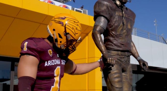 Arizona State has unveiled its 2018 Salute to Service football uniforms