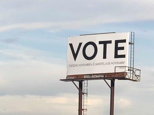 Vote.org billboard