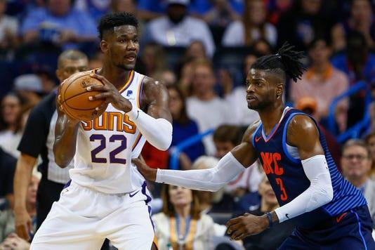 Nba Phoenix Suns At Oklahoma City Thunder