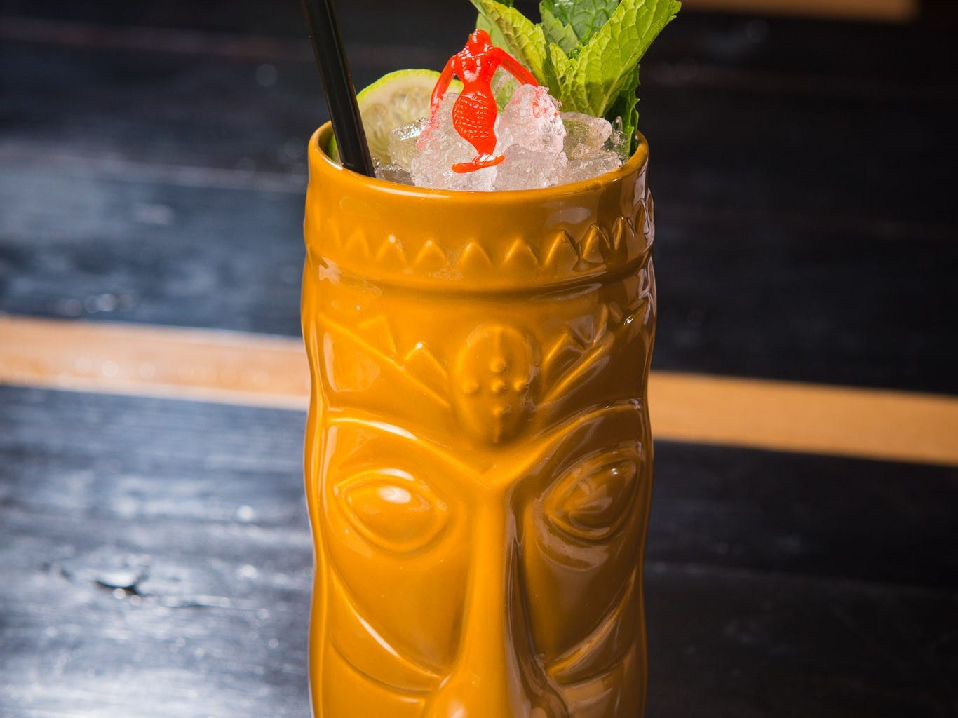 Just because it's autumn doesn't mean Tiki cocktails are out.