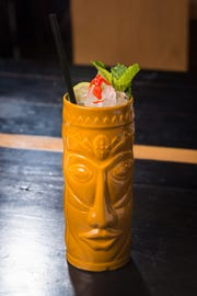 Just because it's autumn doesn't mean Tiki cocktails are out. The Almost Always Bad News ($11) is a fall-inspired cocktail available at Clever Koi and Across the Pond.