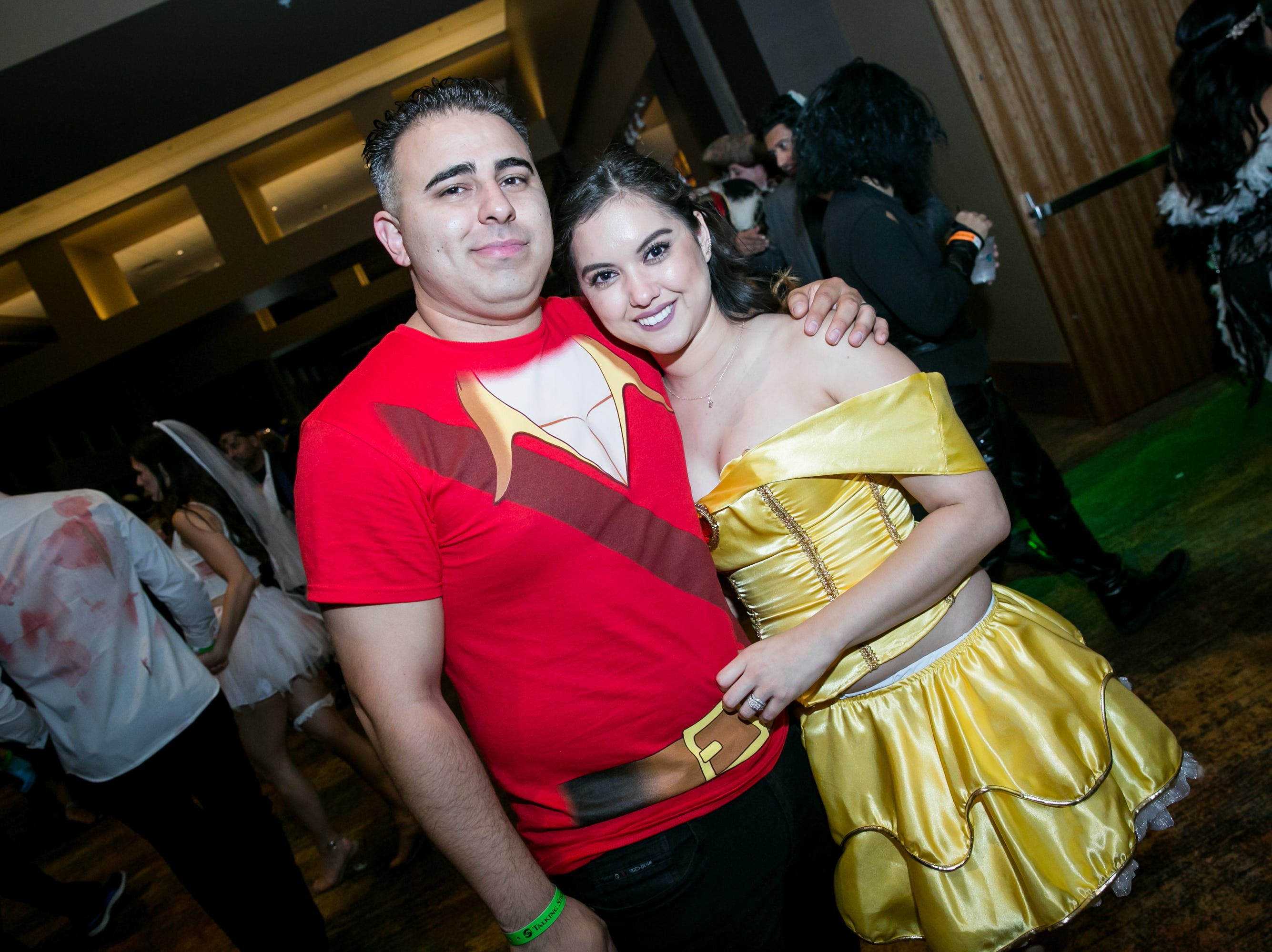Belle chose Gaston after all during Wicked Ball at Talking Stick Resort on Saturday, October 27, 2018.