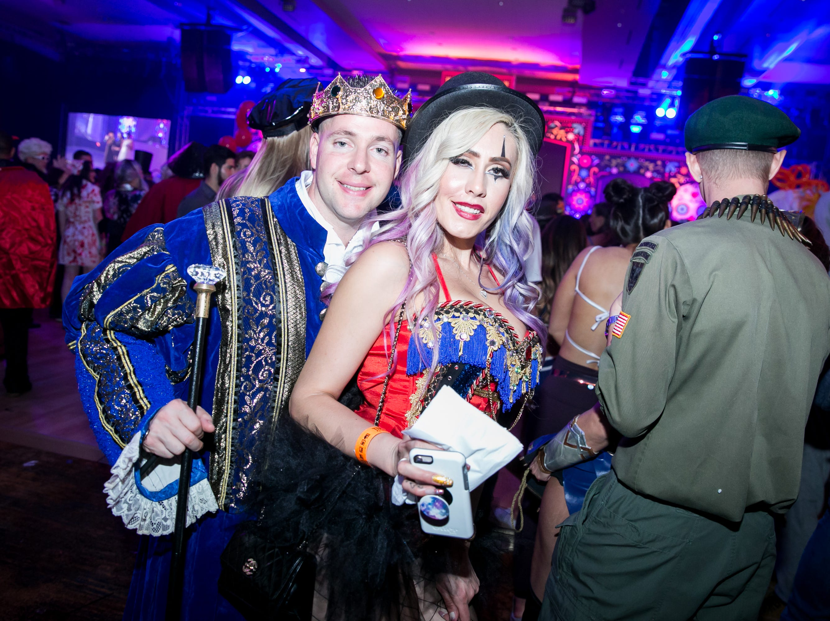 Great times were had during Wicked Ball at Talking Stick Resort on Saturday, October 27, 2018.