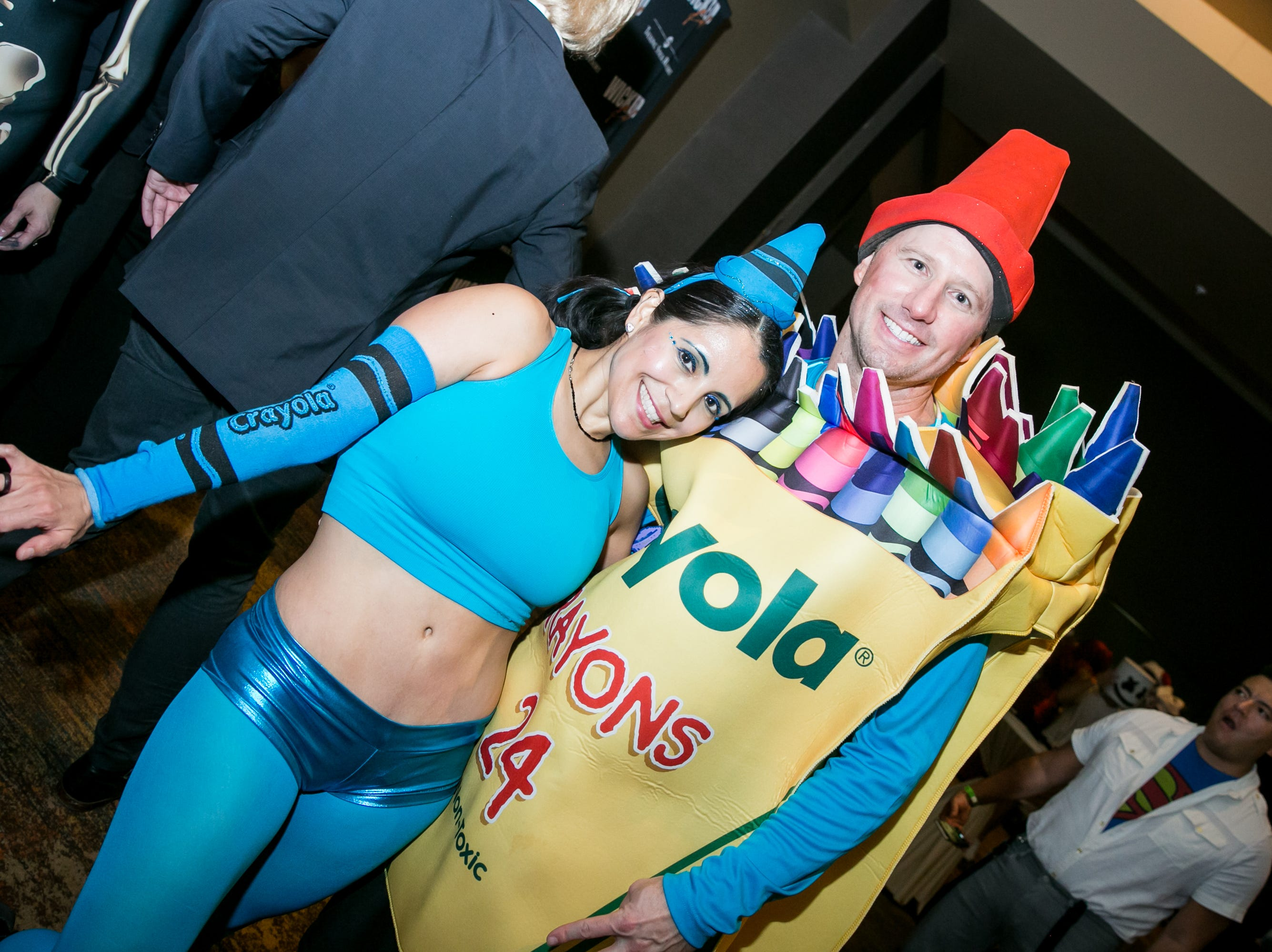 This crayon costume was cute during Wicked Ball at Talking Stick Resort on Saturday, October 27, 2018.