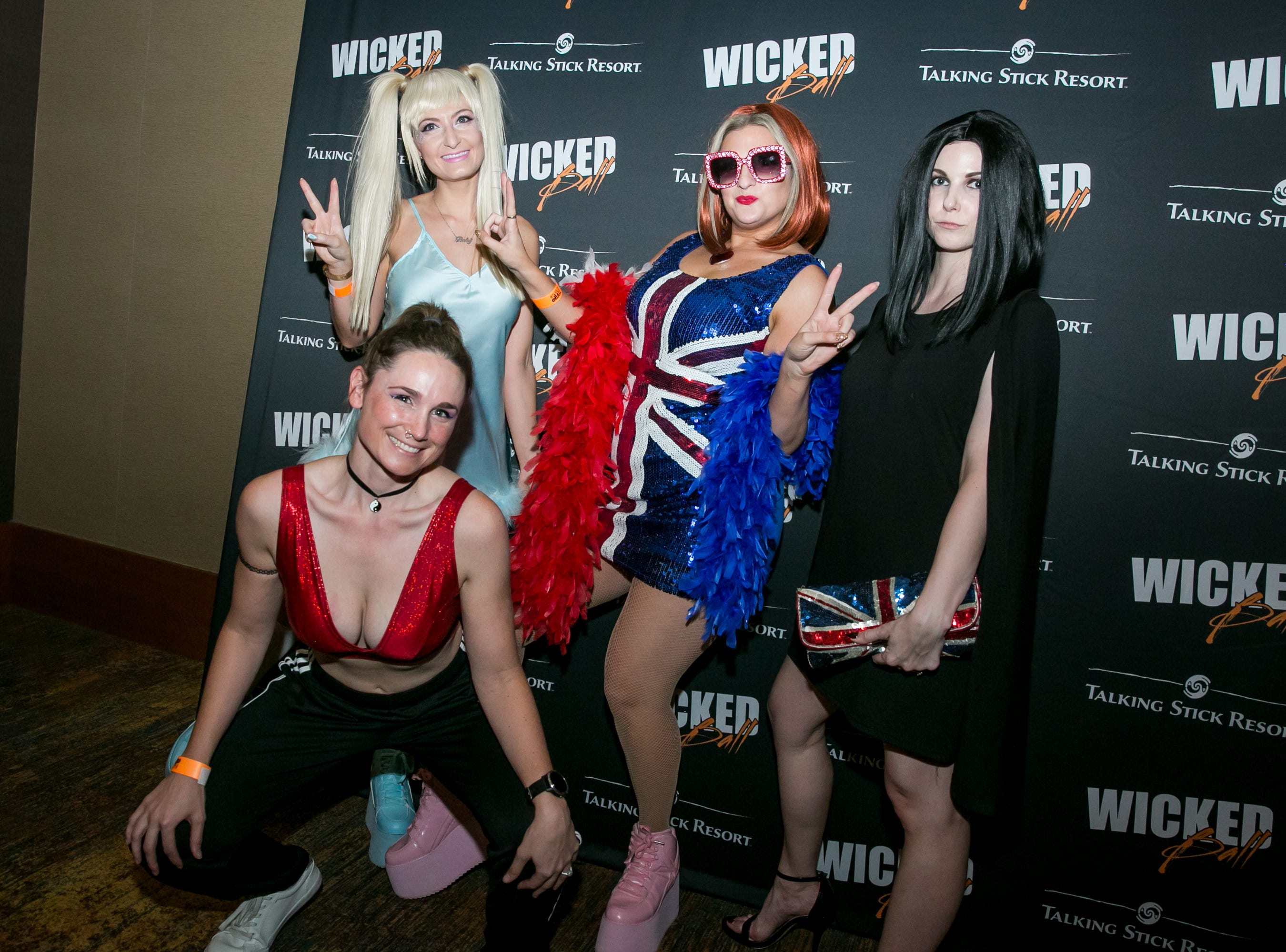 The Spice Girls made their big comeback during Wicked Ball at Talking Stick Resort on Saturday, October 27, 2018.