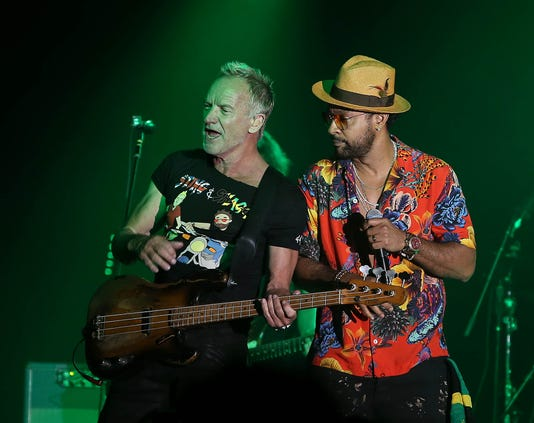Sting Shaggy At The Van Buren