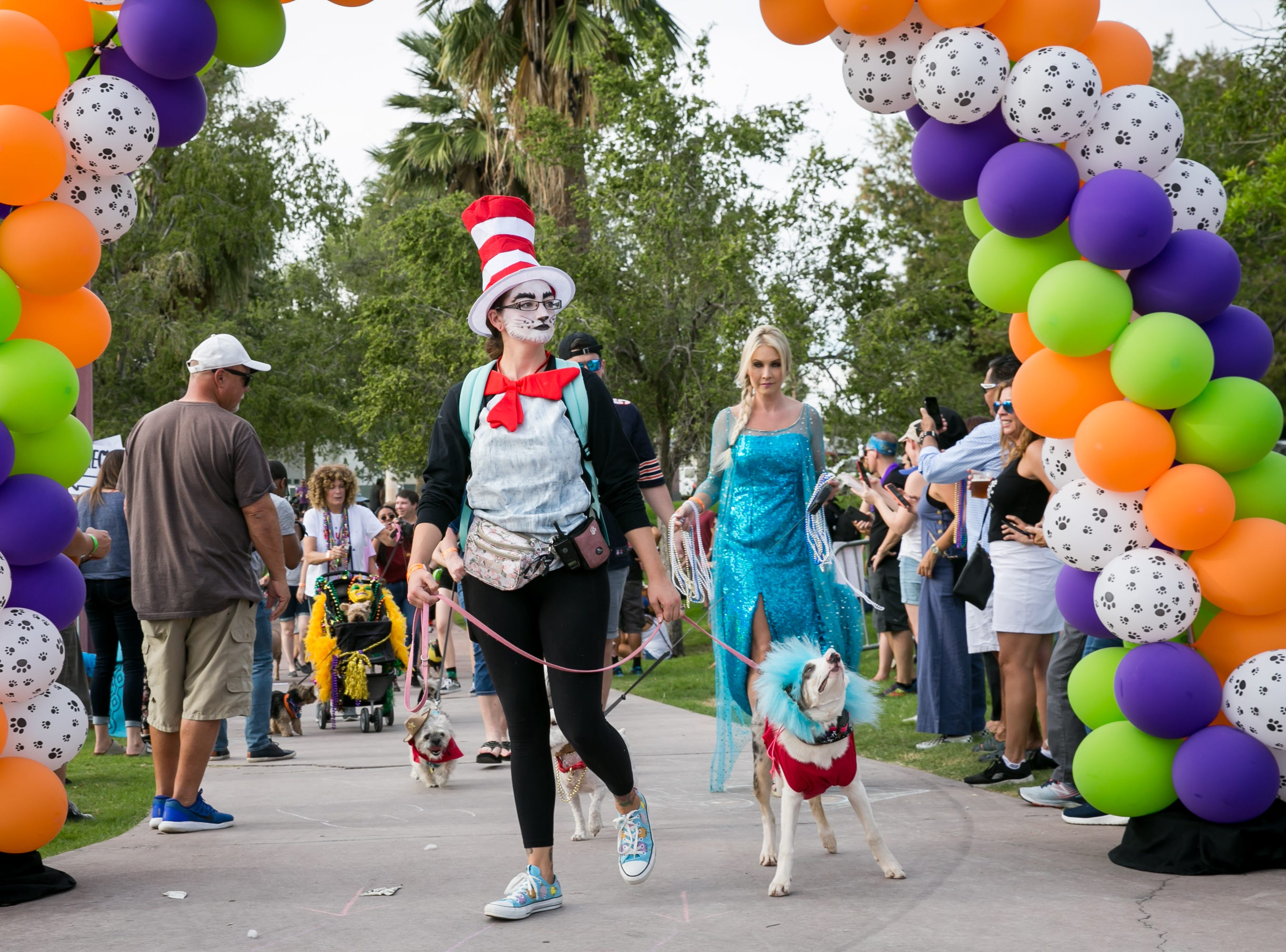 So many great costumes were spotted during Howl-o-Ween at Hance Park on Sunday, October 28, 2018.