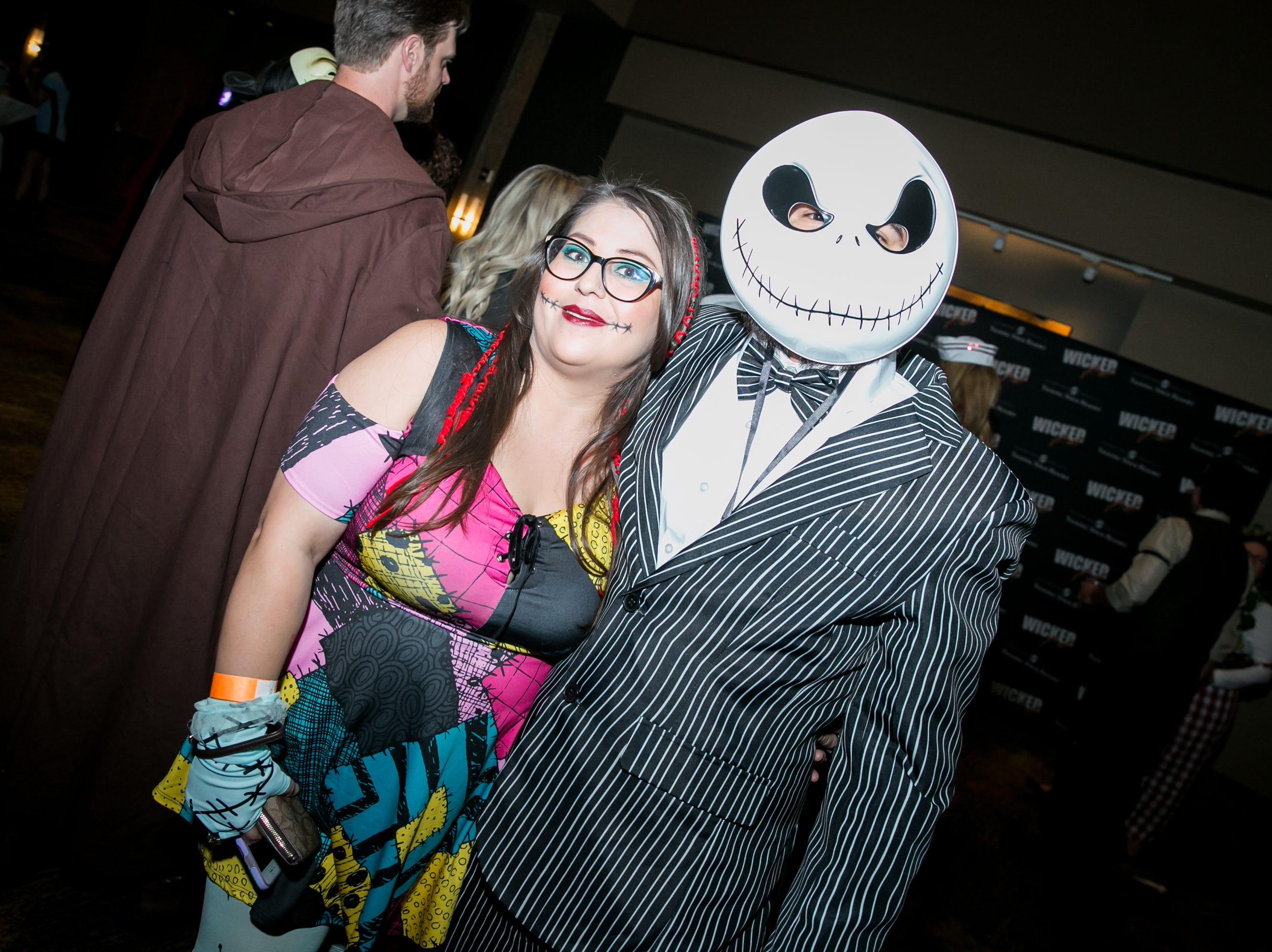 Jack and Sally looked great during Wicked Ball at Talking Stick Resort on Saturday, October 27, 2018.