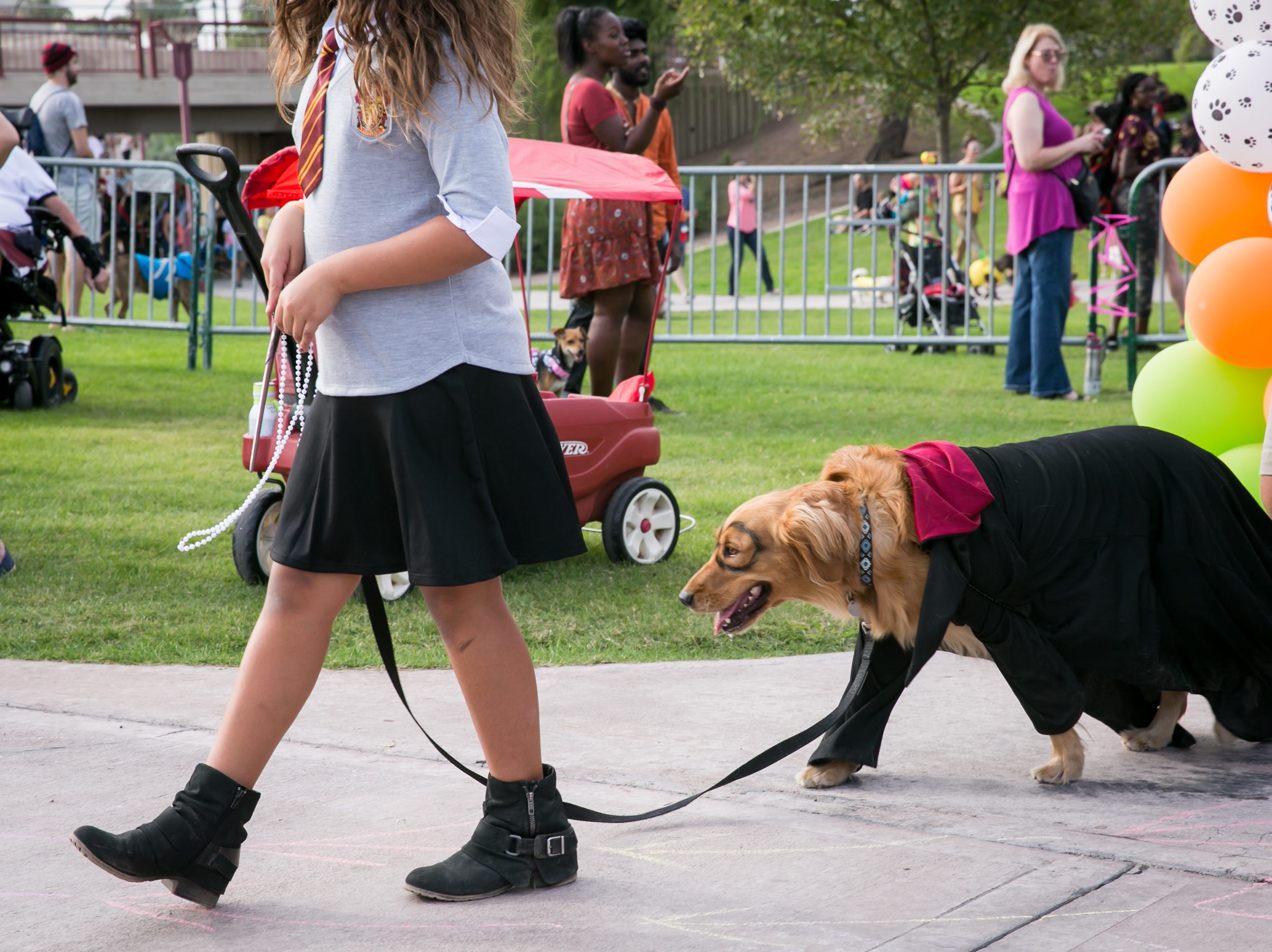 Hairy Pawter looked quite dashing during Howl-o-Ween at Hance Park on Sunday, October 28, 2018.