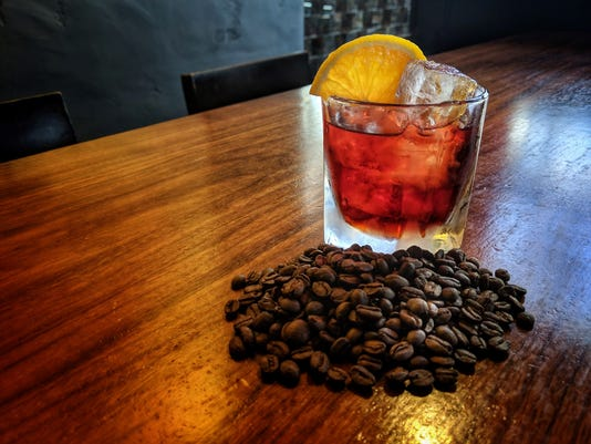 Bitter Twisted Coffee Negroni Cocktail