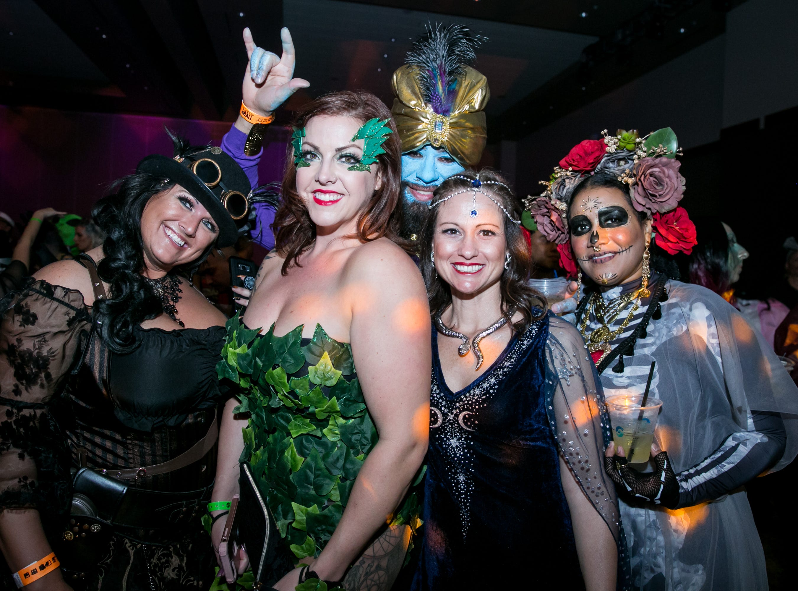 This group looked phenomenal during Wicked Ball at Talking Stick Resort on Saturday, October 27, 2018.