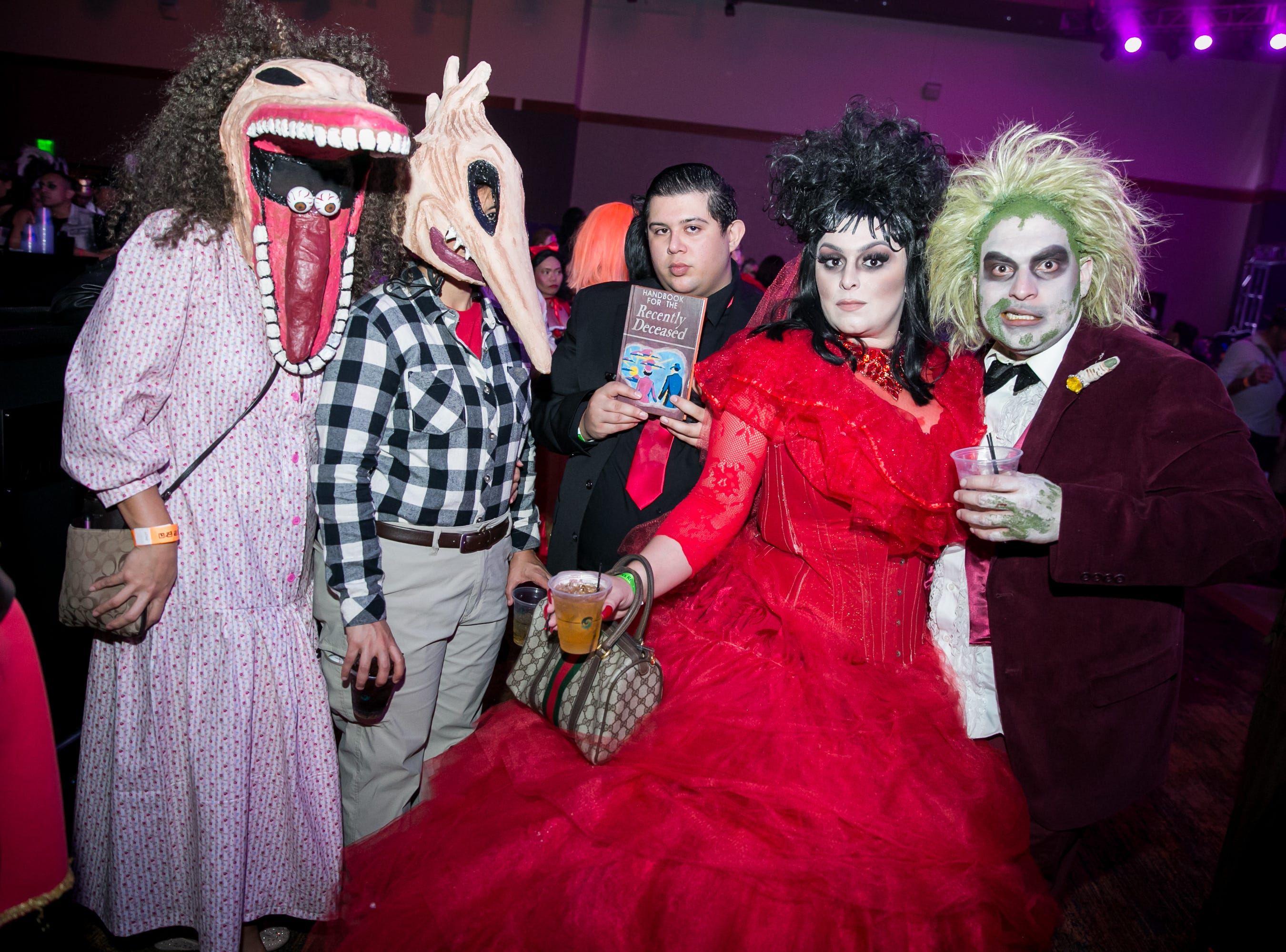 The Beetlejuice crew looked great during Wicked Ball at Talking Stick Resort on Saturday, October 27, 2018.