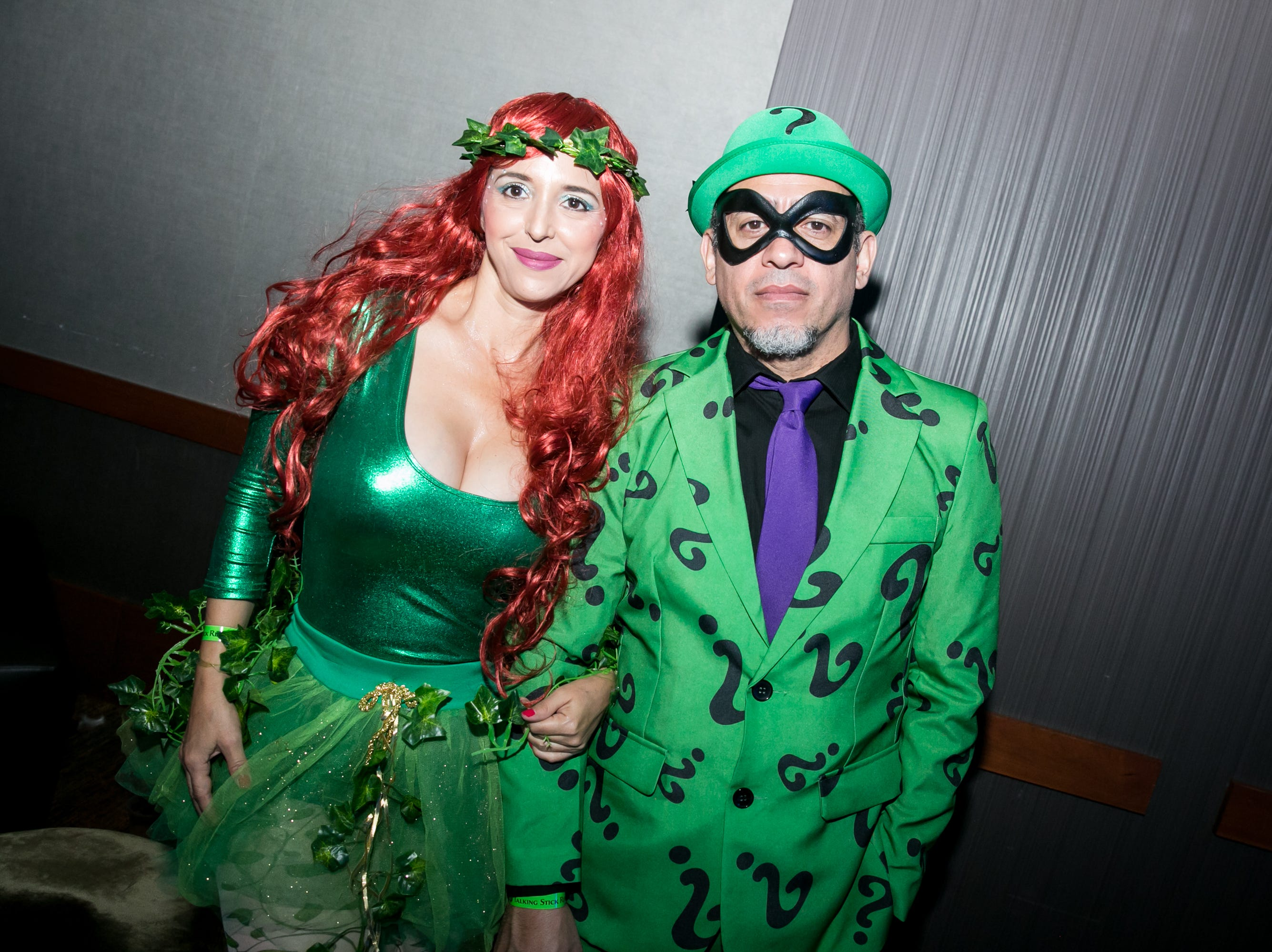 This couple meddled with Batman's plans during Wicked Ball at Talking Stick Resort on Saturday, October 27, 2018.