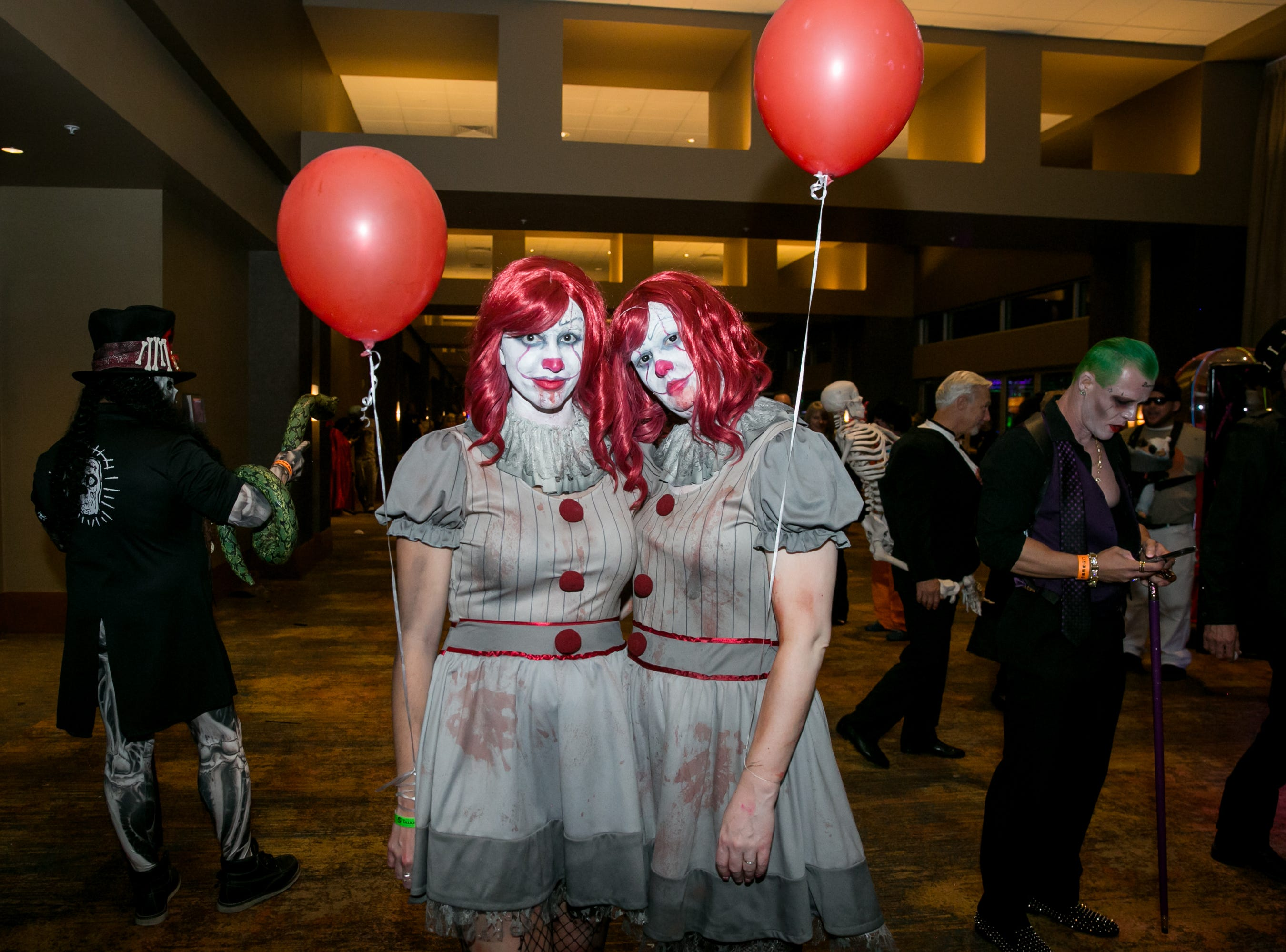 Pennywise was twice as scary during Wicked Ball at Talking Stick Resort on Saturday, October 27, 2018.