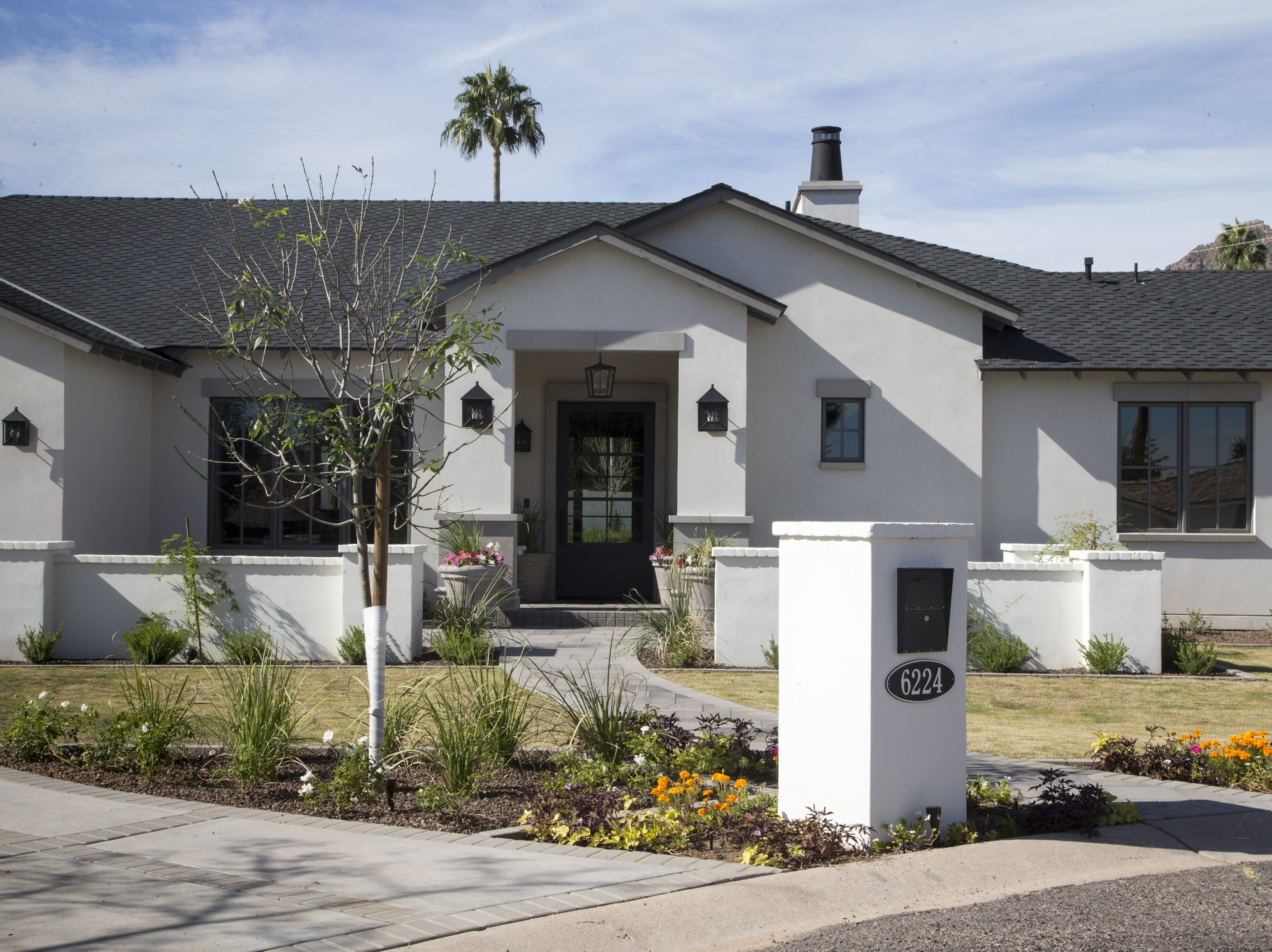 Arizona Diamondbacks third baseman Jake Lamb's new house in the Arcadia community in Scottsdale.