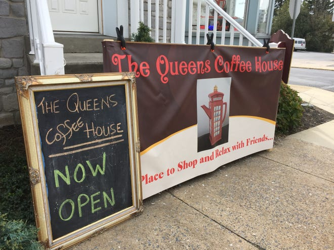The Queens Coffee House is now open inside Tip Top Consignment shop in Palmyra.
