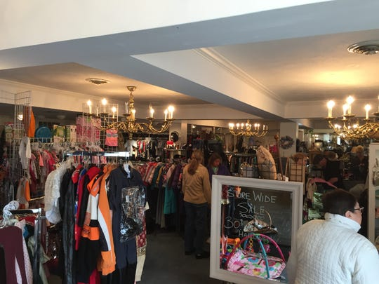 A peek inside Tip Top Consignment Shoppe, which has been busy since its July opening.