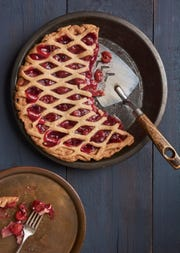 Cherry pie from Meredith's Bread can be made dairy free for those with special dietary needs.