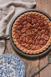Pecan pie from Meredith's Bread is one of the varieties offered for Thanksgiving.