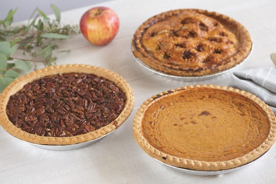 Adams Fairacre Farms bakery in Poughkeepsie offers plenty of pie choices for Thanksgiving.