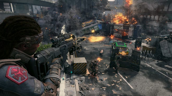 One of the multiplayer modes in Call of Duty: Black Ops 4.