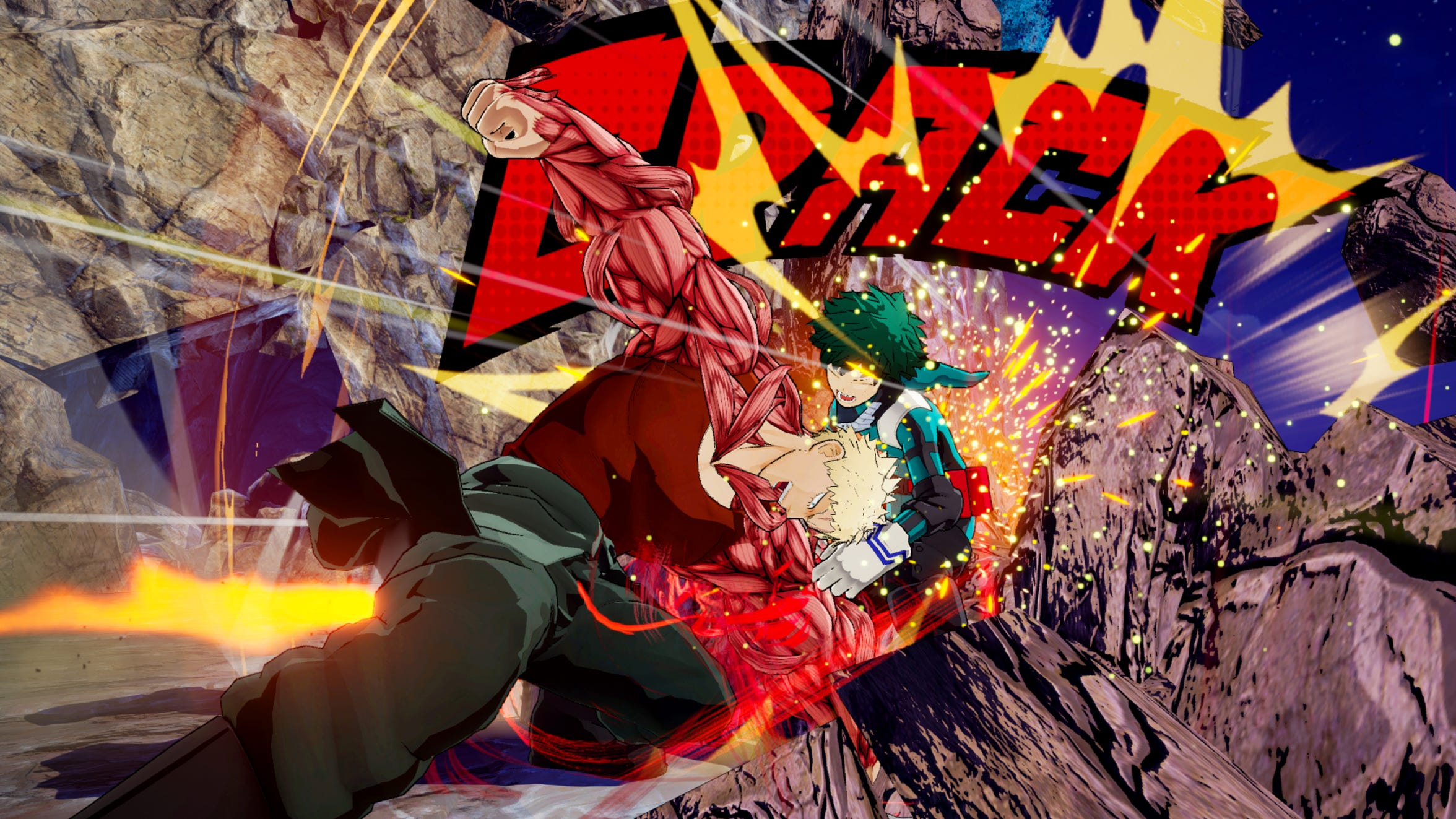 My Hero Academia Characters assemble in My Hero One's Justice for PS4, Switch and Xbox One.