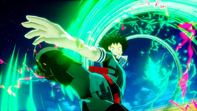 """My Hero Academia's """"Shoot Style Deku"""" is a free DLC in My Hero One's Justice for PS4, Switch and Xbox One."""