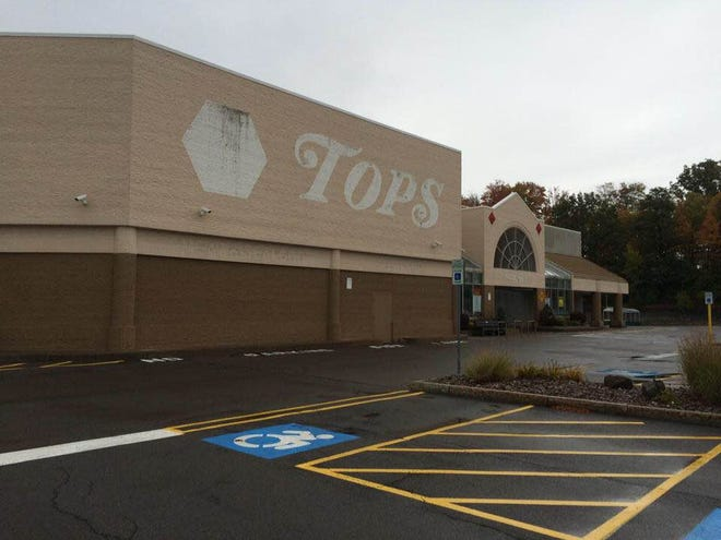 No signs of life at the Tops Friendly Market in Perinton Square mall.