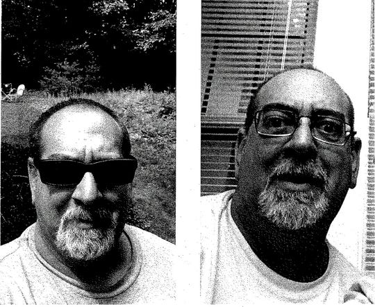 State Police released these photos of Steven J. Kassirer. Troopers said Oct. 29 that the 53-year-old was missing from Irondequoit and his car was found in Oneonta.