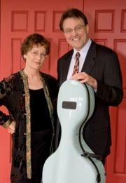 Cynthia Darby and Tom Stauffer of the Stadler Trio
