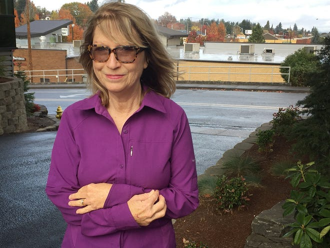 Claudia Carmichael, of Salem, has already gotten her first dose of Shingrix, but when she'll be able to get a second shot remains unclear. It's recommended that patients receive their second dose between two to six months after the first shot.