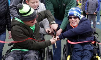 Accessible Shaw Family Playground opened October 27