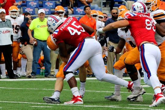 Louisiana Tech defensive end Jaylon Ferguson is one of 20 semifinalists for the Chuck Bednarik Award.