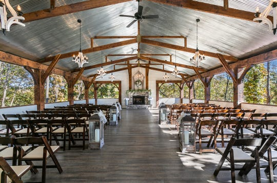 The open-air chapel will be open to guests during the event.