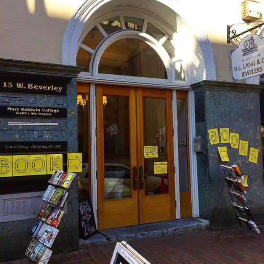 Staunton Books relocated to the Masonic Building in downtown Staunton after closing up its storefront some months ago.