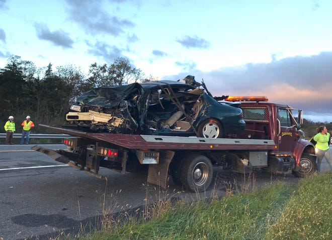 A Staunton woman driving a 1995 Nissan Altima was killed Oct. 29 in a two-car collision on Va. 262.