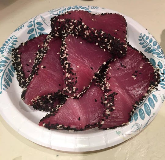 Got wasabi? According to Capt. Patrick Price of DayMaker charters in Stuart, the blackfin tuna are running along the Treasure Coast.