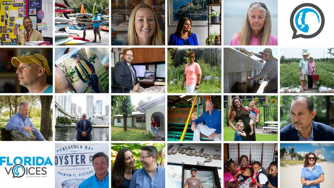Twenty-two Floridians were interviewed by Eve Samples, Leah Voss and other USA TODAY Network-Florida journalists between May and October 2018.