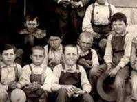 Young children in the early days of the Pleasant Valley School District