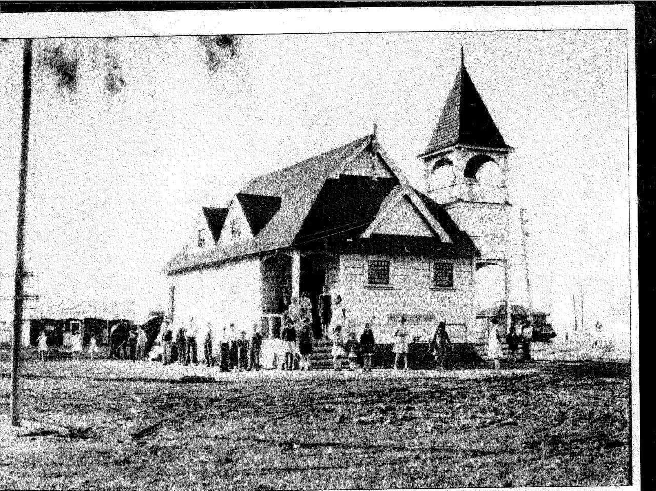 An early photo of the Pleasant Valley School, which eventually grew to become the Pleasant Valley School District, now home to more than 6,500 students. The district is celebrating its 150th anniversary this year.