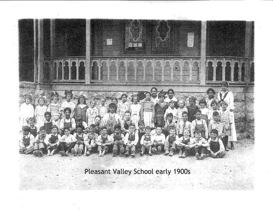 The Pleasant Valley School District formed in 1868 with just six students. By the early 1900s, around 100 students attended.