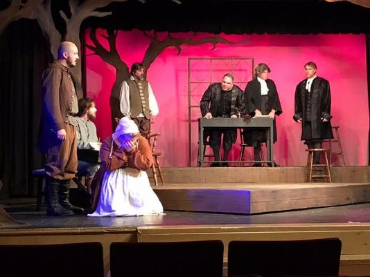 "Cumberland Players presents ""The Crucible"""
