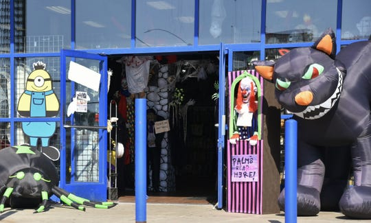 Spooky Halloween on Mooney Boulevard is open from 10 a.m. to 9 p.m. from now until Halloween night.