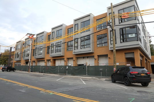 In this file photo from October 2018, a view of The Lofts, which is a 23-unit luxury apartment building on Washington Avenue nearing completion in downtown Pleasantville.