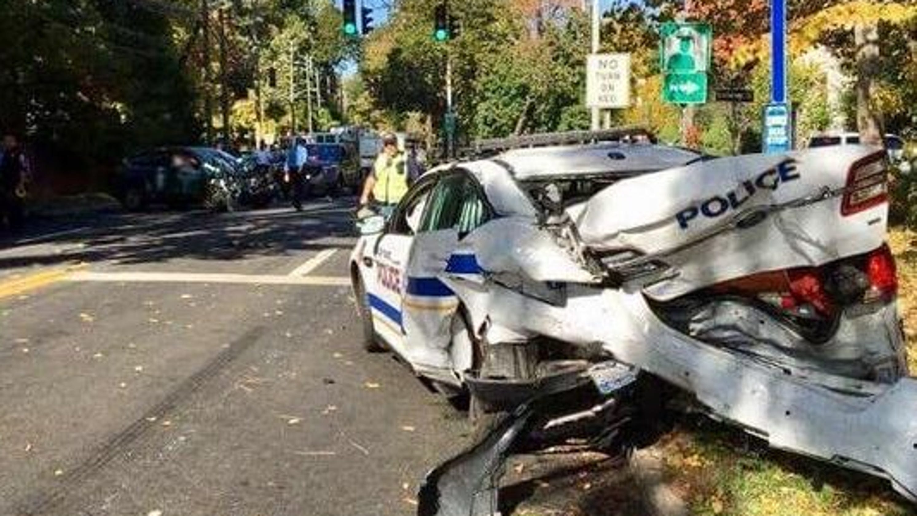 Briarcliff sues Ossining over police chase car crash that injured cop