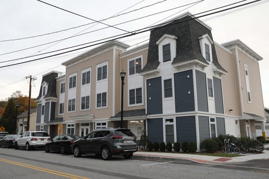 A view of new apartment building at 322 Kear Street in downtown Yorktown on Oct. 26, 2018.