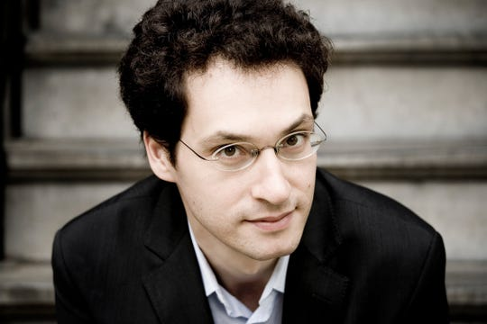 """Pianist Shai Wosner will perform with the Wichita Falls Symphony Orchestra's """"Symphony Fantastique"""" program at 7:30 p.m. Saturday at Memorial Auditorium."""