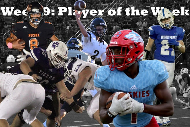 Nominees for the week 9 player of the week are Quanah's Clayton Laughery, Nocona's Carter Horn, Windthorst's Awtry Blagg, Hirschi's Daimarqua Foster and Jacksboro's K.C. Rater.