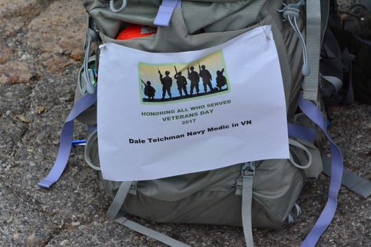 The North Texas Veteran's Relief Fund will host its second Base Camp Lindsey March of Honor from 7 a.m. to noon, Saturday beginning at Lake Wichita Park.